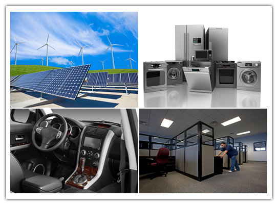 Alternative Energy Metal Components | Appliance Metal Components | Furniture Metal Components \ Automotive Metal Components