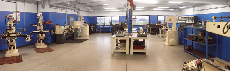 Burnex Corporation in-house tool room